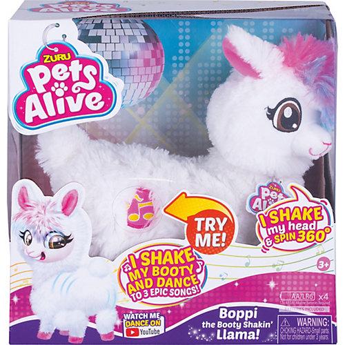 "Интерактивная игрушка Zuru Pets Alive ""Танцующая Лама"", звук от ZURU"