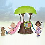 """Игровой набор Paula """"Домик в лесу"""", с белым попугаем"""