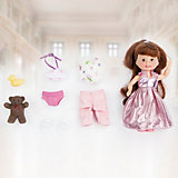 """Игровой набор Paula """"Модница: розовое платье"""""""