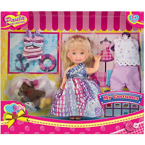 """Игровой набор Paula """"Модница: разноцветное платье"""" от Paula"""