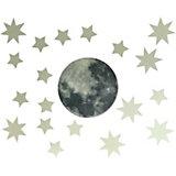 """Светящиеся наклейки Люмастик """"Луна и звёзды"""""""