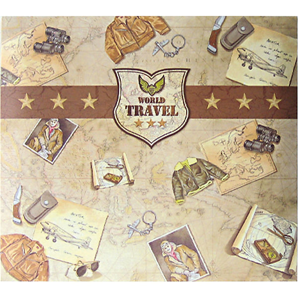 Scrapbook Album Travel 30,5 x 30,5 cm