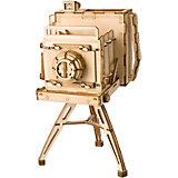 Деревянный конструктор Wow Idea Винтажная камера