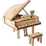 Деревянный конструктор Wow Idea Пианино