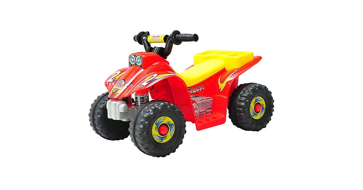 Kinderauto Quad gelb/rot