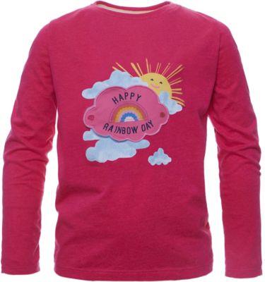 Losan Mädchen Shirt Langarm Uhu grau Gr 116 110 92 122 neu