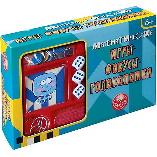 Математические игры-фокусы-головоломки Маэстро от Маэстро