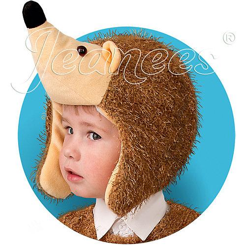 "Шапка-маска Jeanees ""Ёжик"" - коричневый от Jeanees"