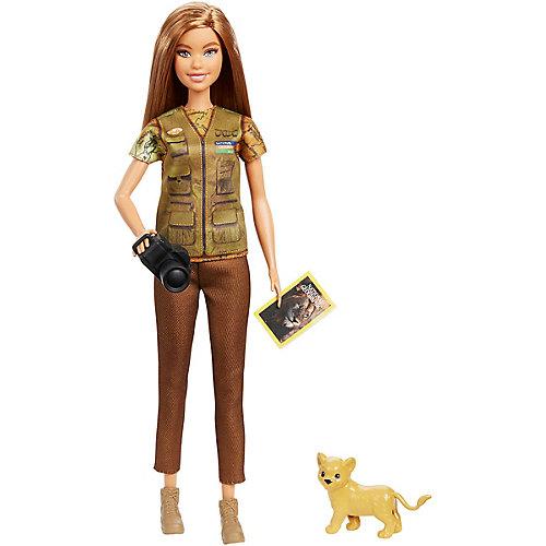 """Кукла Barbie """"Кем быть?"""" National Geographic Фотожурналист от Mattel"""