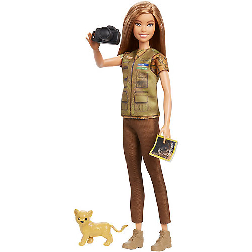 "Кукла Barbie ""Кем быть?"" National Geographic Фотожурналист от Mattel"