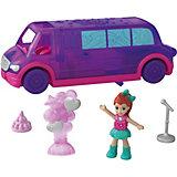 """Игровой набор Polly Pocket """"Полливиль"""" Лимузин для вечеринок"""
