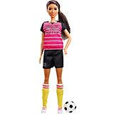 """Кукла к 60-летию Barbie """"Кем быть?"""" Футболистка"""