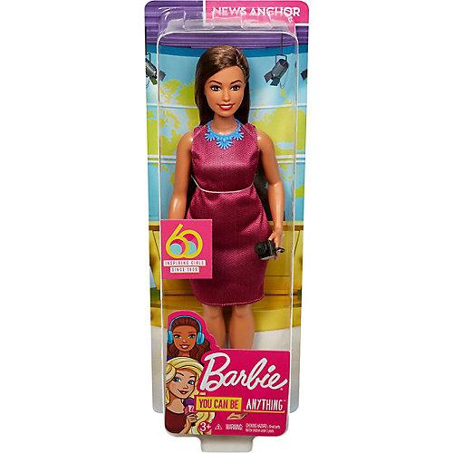 """Кукла к 60-летию Barbie """"Кем быть?"""" Журналист от Mattel"""