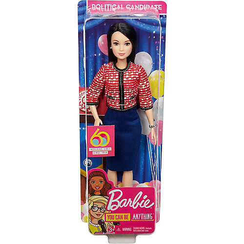 """Кукла к 60-летию Barbie """"Кем быть?"""" Политик от Mattel"""