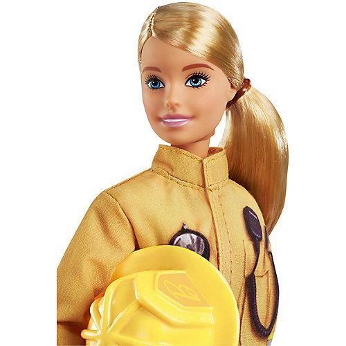 """Кукла к 60-летию Barbie """"Кем быть?"""" Пожарный от Mattel"""
