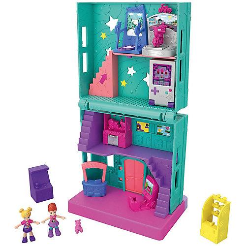 """Игровой набор Polly Pocket """"Полливиль"""" Игровая комната от Mattel"""