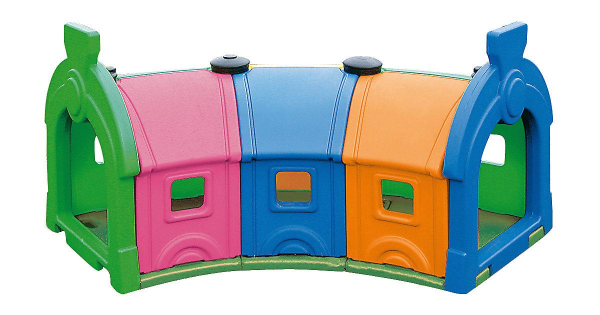 Wagon Toy 3 Waggons bunt