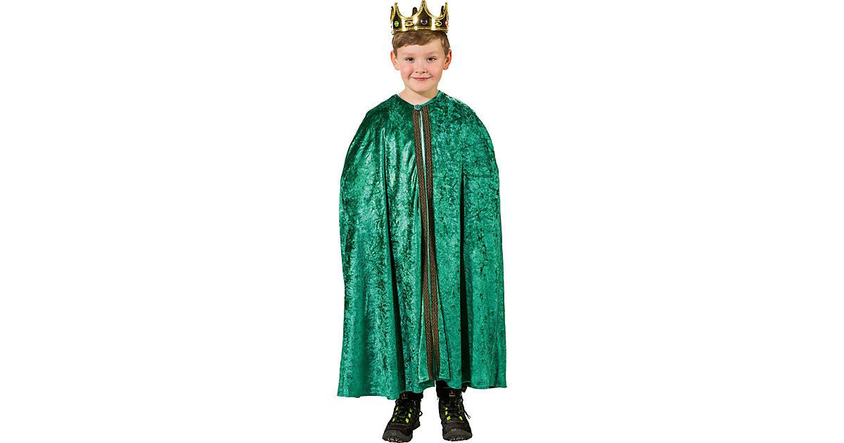 Umhang Caspar grün Jungen Kinder