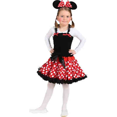 Haarreif Minnie Mouse Ohren Rot Disney Minnie Mouse Mytoys