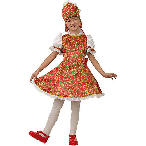 "Карнавальный костюм Jeanees ""Марьюшка"" - красный/белый от Jeanees"