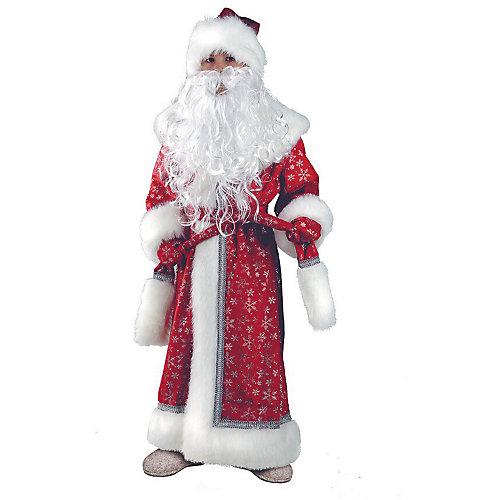 "Карнавальный костюм Батик ""Дед Мороз плюш"" - красный от Батик"
