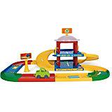 "Игровой набор Wader Kid Cars 3D ""Гараж"", 2 этажа"