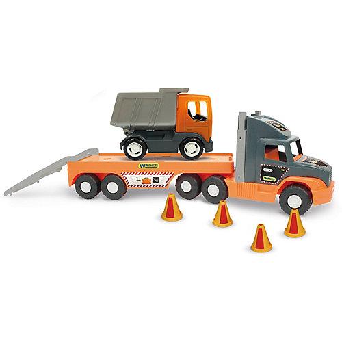 Игровой набор Wader Super Tech Truck c грузовиком от Wader