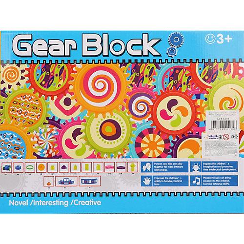 Конструктор Наша Игрушка Gear Block Машинка с радиоуправлением, 86 деталей от Наша Игрушка