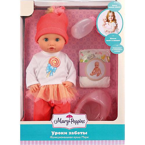 "Кукла-пупс Mary Poppins ""Карамель"" Уроки заботы, 36 см от Mary Poppins"