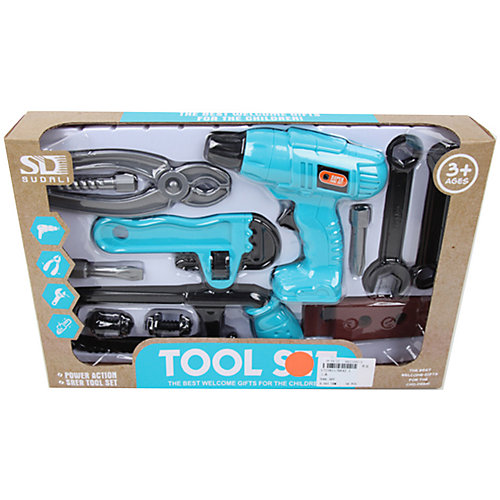 Набор инструментов Наша Игрушка, 11 предметов от Наша Игрушка