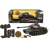 Радиоуправляемый танк Т-34 Пламенный мотор с тренировочной мишенью, 1:24