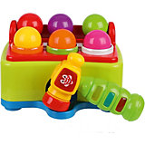 """Игра-стучалка Наша Игрушка """"Быстрый молоточек"""" 6 шаров, свет, звук"""