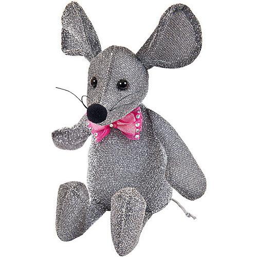 Мягка игрушка Abtoys Мышка блестящая 16 см от ABtoys