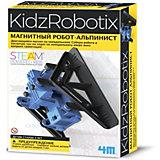 Набор для робототехники 4M KidxRobotix Магнитный робот-альпинист