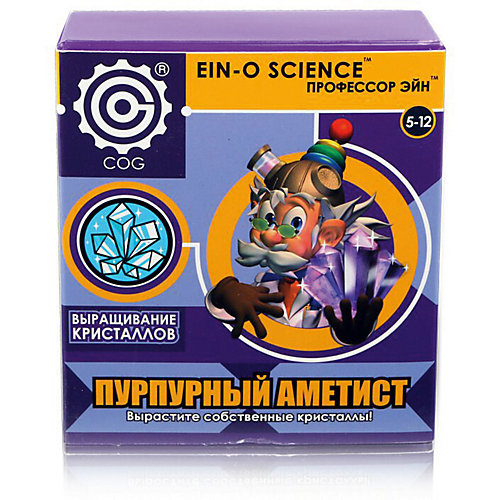 """Набор для опытов Профессор Эйн """"Выращивание кристаллов"""" Пурпурный аметист от Профессор Эйн"""