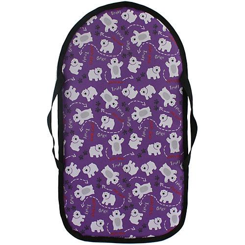 """Ледянка Hubster """"Мишки фиолетовые"""", овальная, 45х85 см от Hubster"""