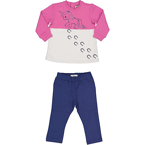 Комплект:свитшот,брюки Birba - розовый от Birba