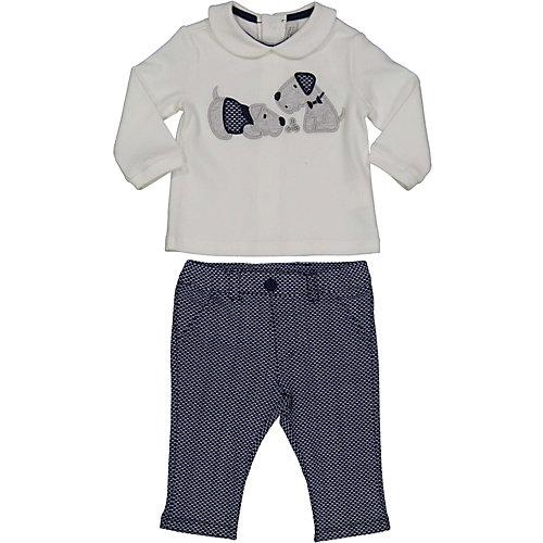 Комплект Birba: свитшот и брюки - белый от Birba