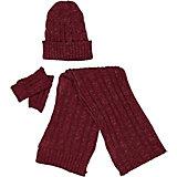 Комплект Trybeyond: шапка, шарф и митенки