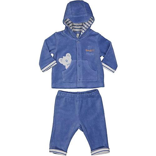 Комплект Birba: толстовка и брюки - синий от Birba
