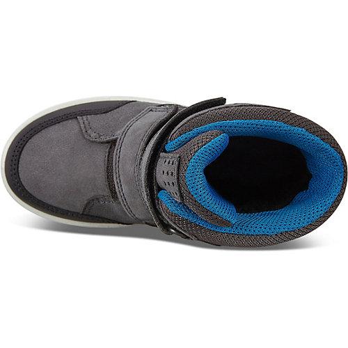 Утеплённые ботинки ECCO - черный джинсовый от ecco