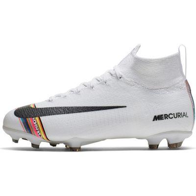 Fußballschuhe JR MERCURIAL SUPERFLY 6 ELITE CR7 FG Fußballschuhe für Kinder, Nike Performance
