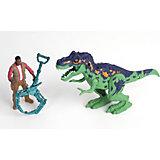 Игровой набор Chap Mei Аллозавр и охотник