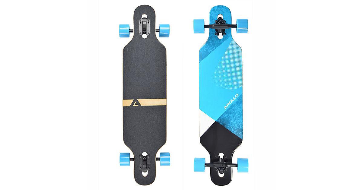 Twin Tip DT Longboard Maguro schwarz/blau
