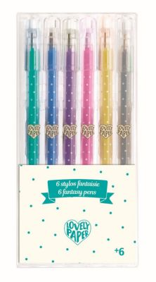 Idena Gelstifte Gelschreiber 30 Stück Glitter Regenbogen Metallic 30 Farben