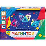 """Магнитный конструктор """"Магнитой"""", 8 треугольников (2 - с окном)"""