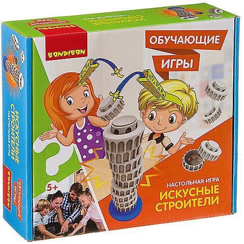 """Настольная игра Bondibon """"Искусные строители"""" от Bondibon"""