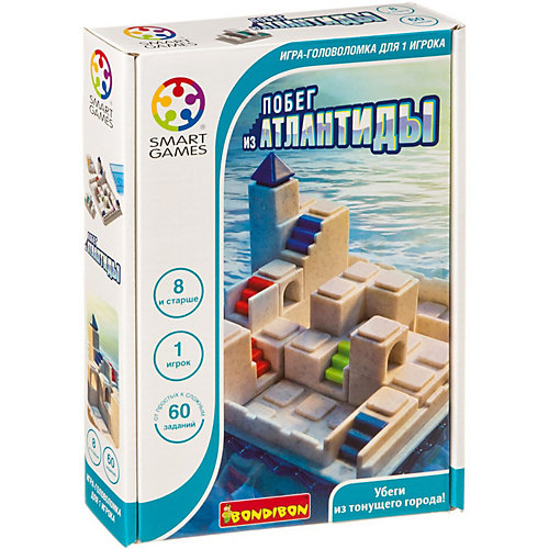 Игра - головоломка Bondibon Побег из Атлантиды SmartGames от Bondibon