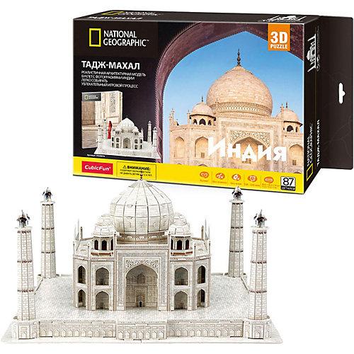 3D Пазл CubicFun Тадж Махал (Индия), 87 деталей от CubicFun