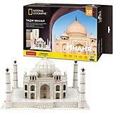 3D Пазл CubicFun Тадж Махал (Индия), 87 деталей